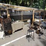 Blacksmith stand