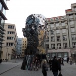 This statue was moving (the different layers turned)