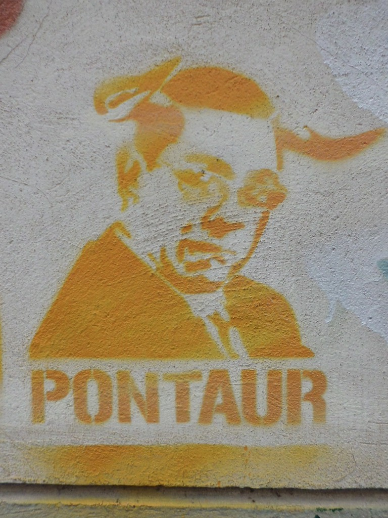 Pontaur Stencil