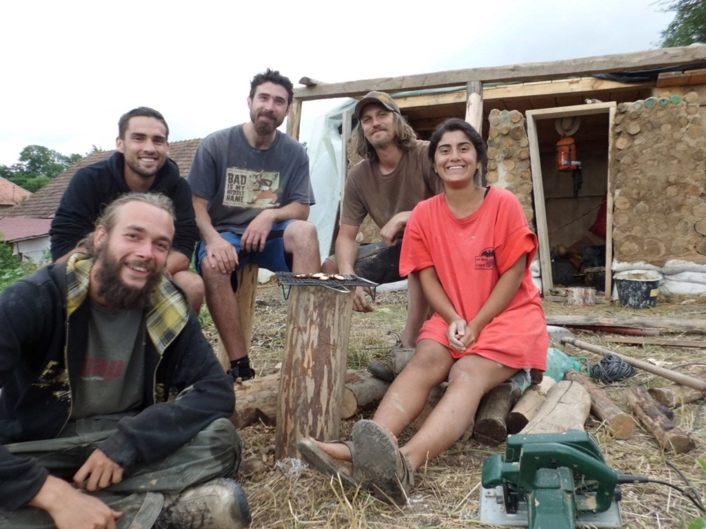 Strawbale Project Team!