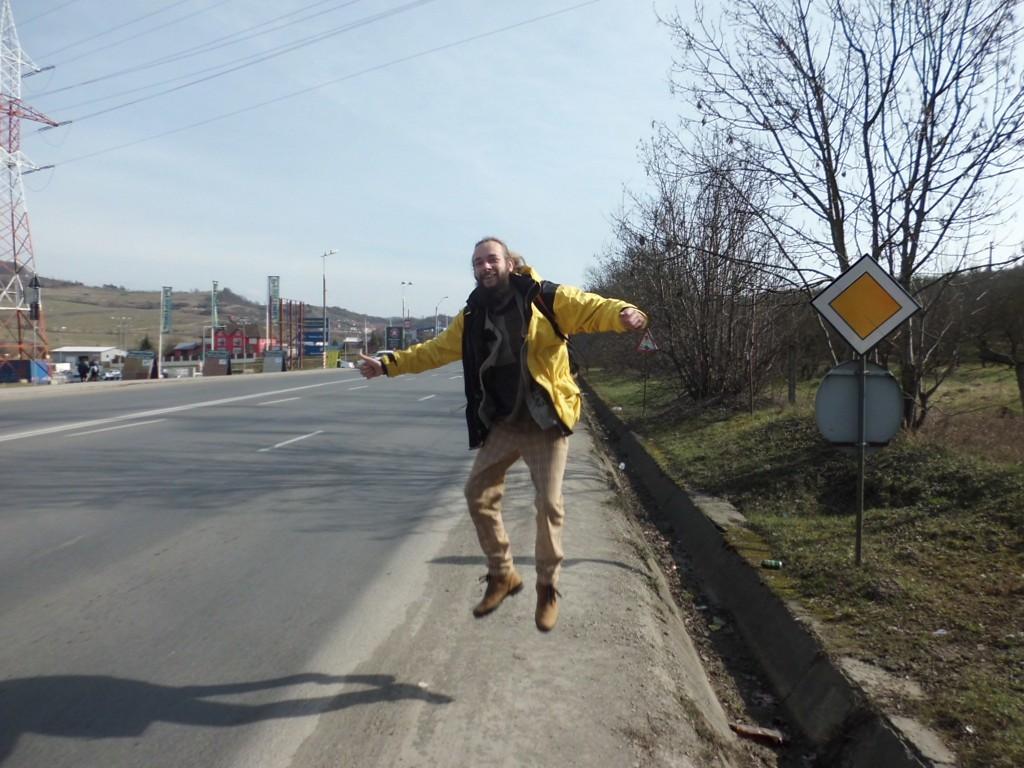 When ya happy and ya Hitching have a jump!
