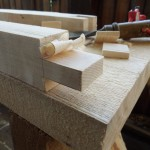 Chiseling the Tenon