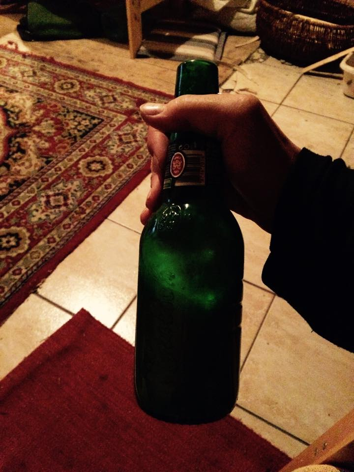 Home made beer in a bottle, Whuuut whuuuuut