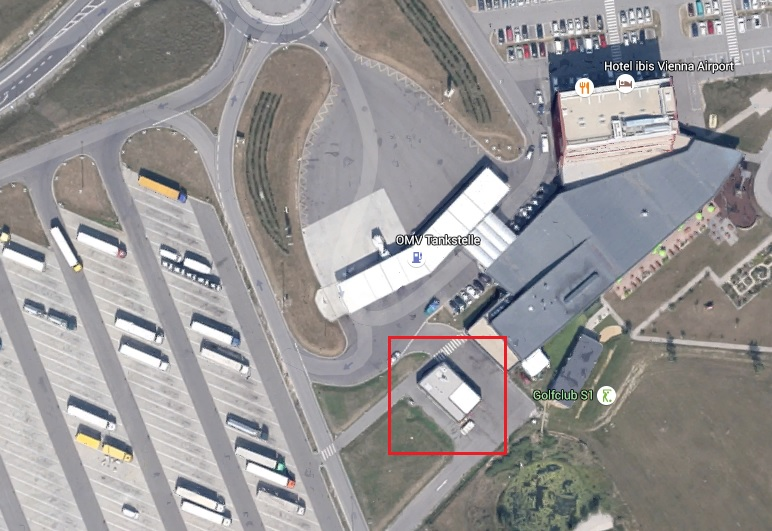 I wasn't in the mood for pictures of my 5star hotel. but Here a Gmaps of the Recycle station highlighted in Red.